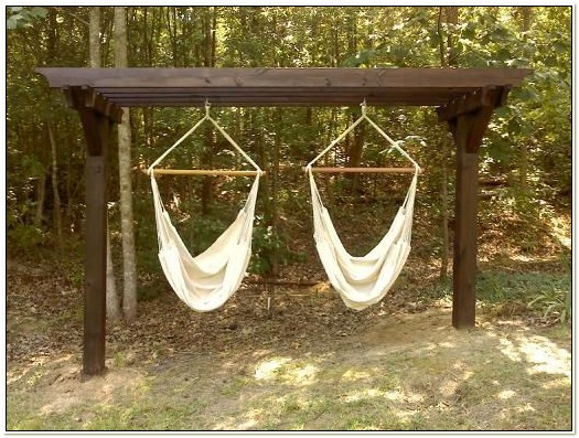 Chair Hammock Stand Plans