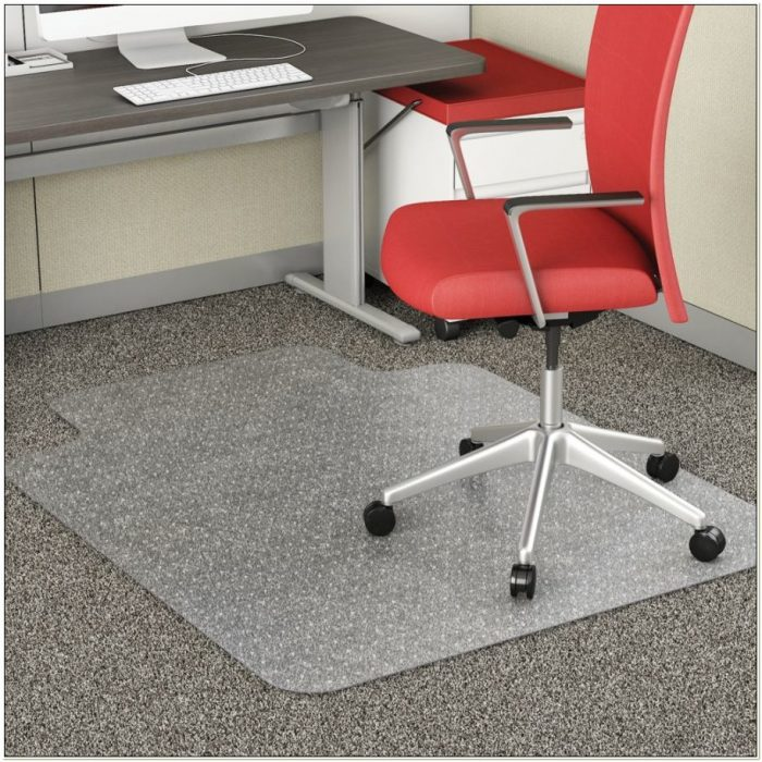 Chair Mat With Double Lip