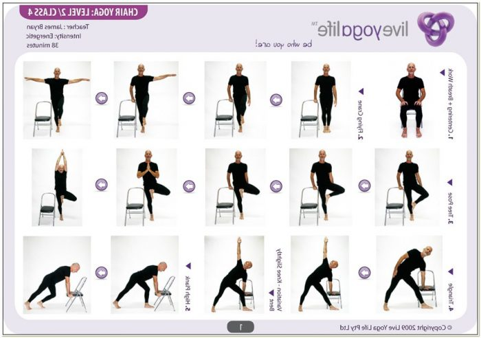 Chair Exercise For Seniors Pdf Chairs Home Decorating