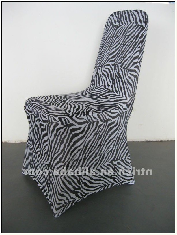 Cheap Zebra Print Chair Sashes