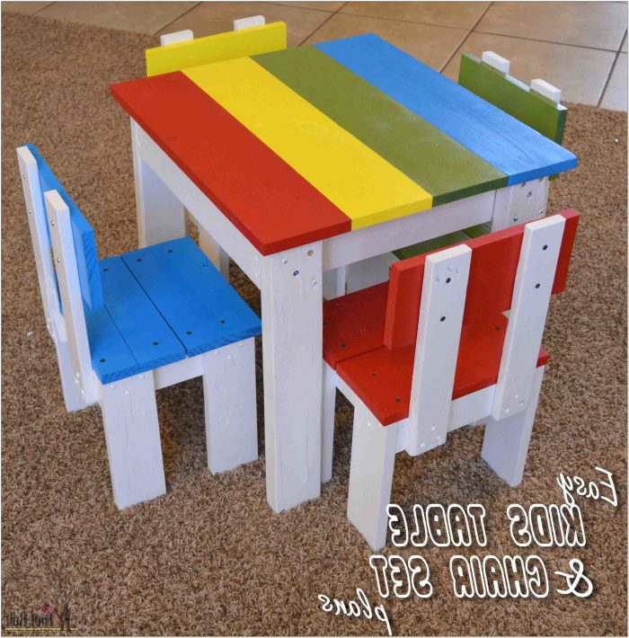 Childrens Wooden Table And Chair Set Plans