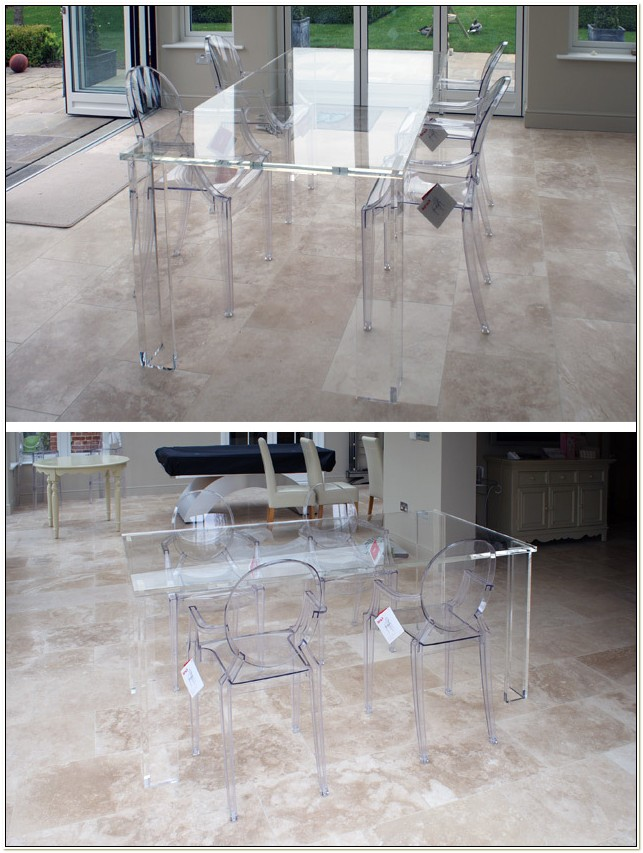 Clear Acrylic Dining Table And Chairs Uk
