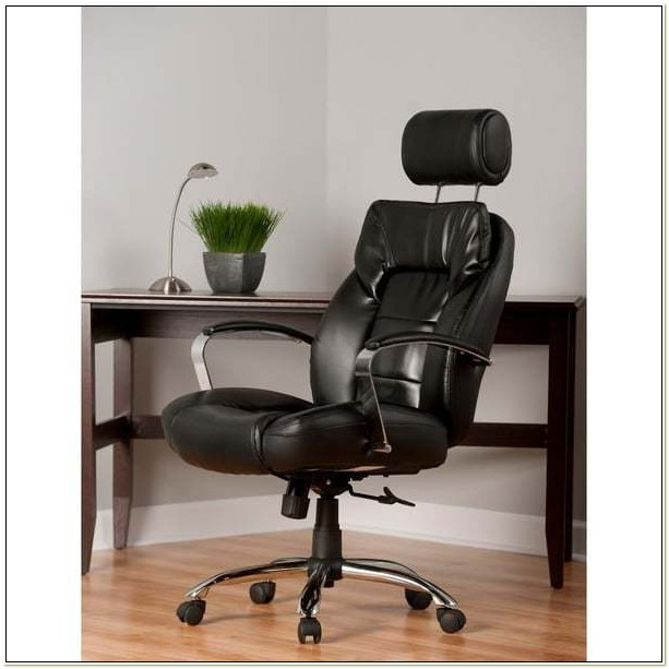 Commodore Ii Oversize Leather Executive Chair Black