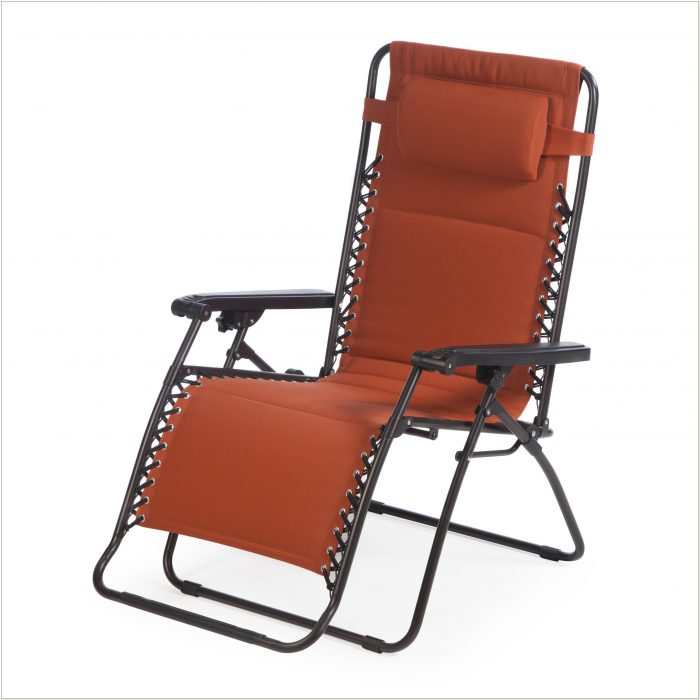 Coral Coast Padded Zero Gravity Lounge Chair