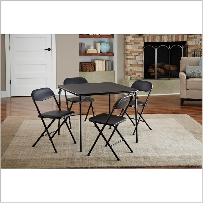 Cosco Folding Table And 4 Chairs
