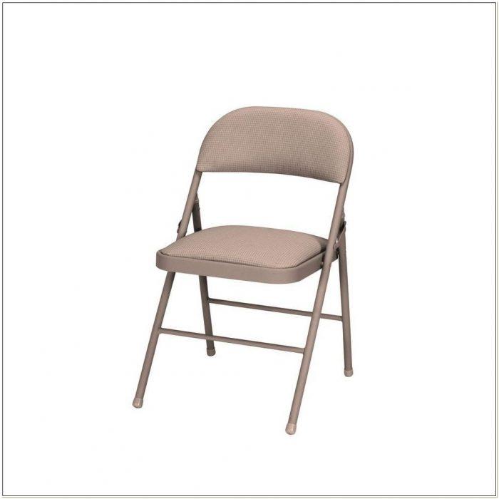 Cosco Padded Folding Chairs