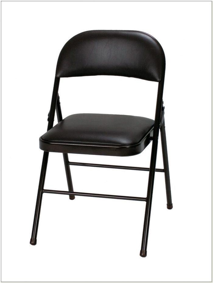 Cosco Vinyl Padded Folding Chairs