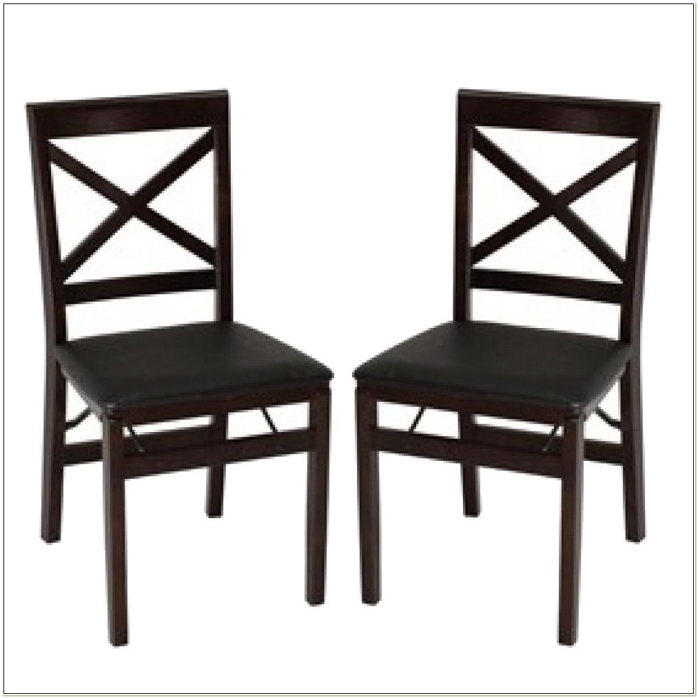 Cosco Wooden Folding Chairs