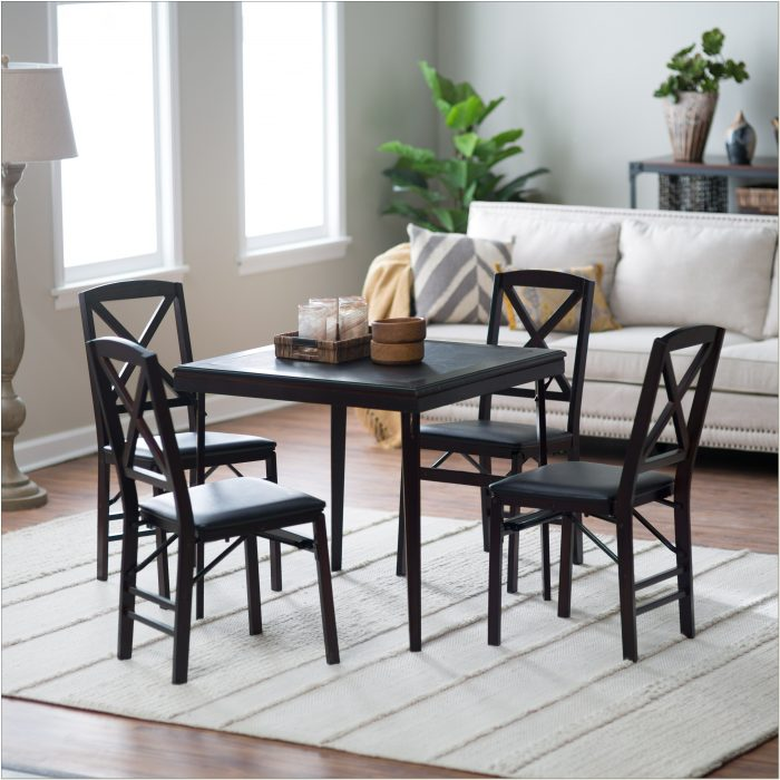 Cosco Wooden Folding Table And Chairs