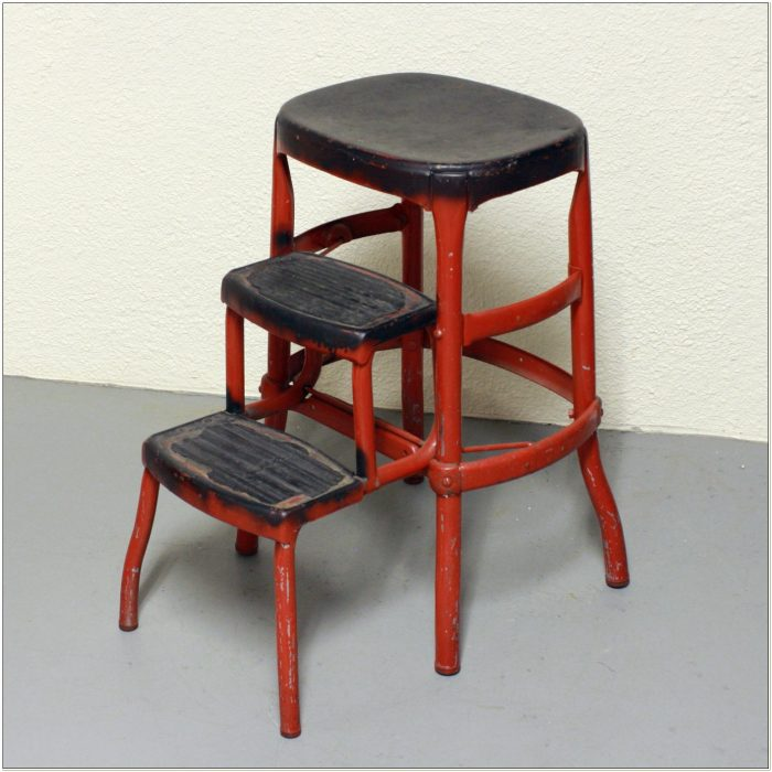 Counter Height Step Stool Chair