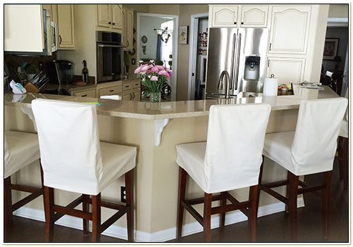 Counter Height Stool Slipcovers