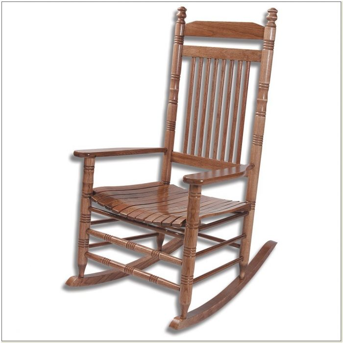 Cracker Barrel Wooden Rocking Chairs