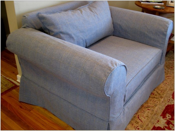 Custom Slipcovers For Chair And A Half