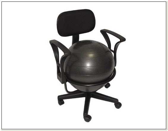 Deluxe Ergonomic Ball Office Chair