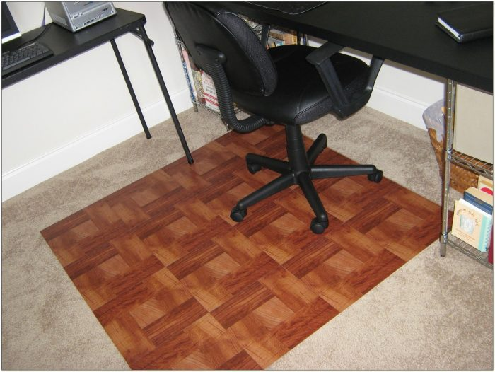 Desk Chair Mat For Tile Floor