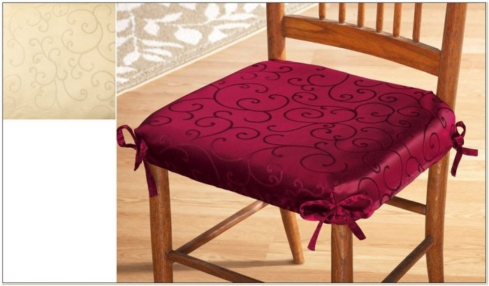 Dining Room Chair Seat Cover Ideas