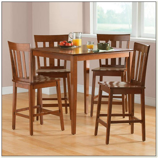 Dining Table 4 Chairs Walmart