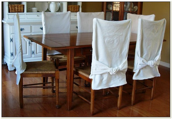 Diy Slipcover For Dining Room Chair