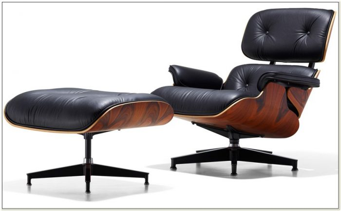 Eames 670 Lounge Chair Ottoman