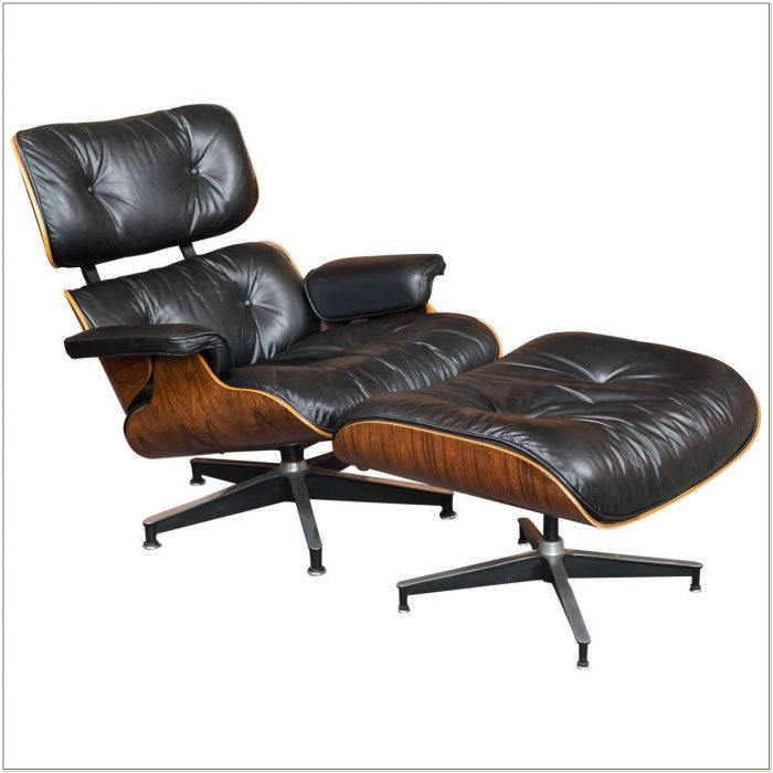 Eames Lounge Chair 670 And Ottoman 671
