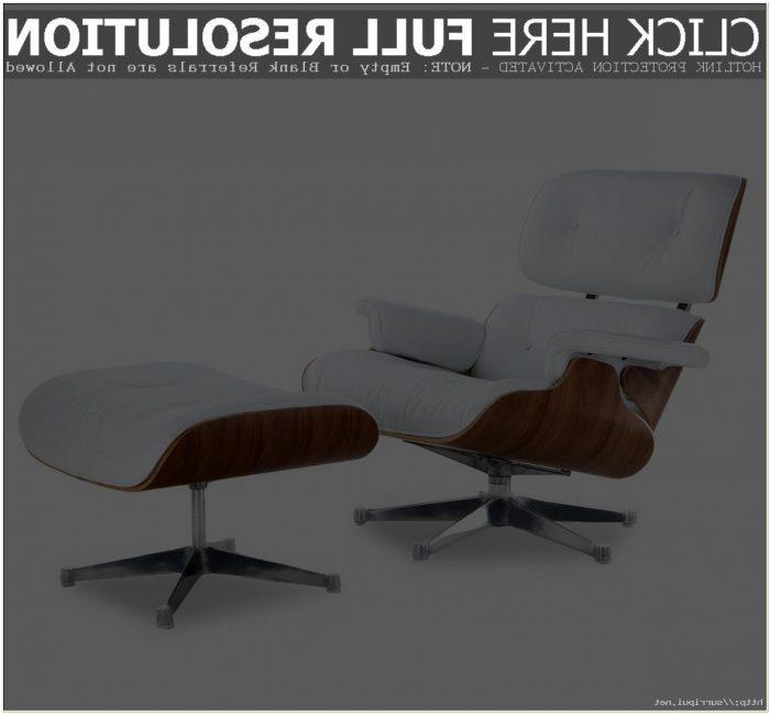 Eames Lounge Chair Met Ottoman Replica