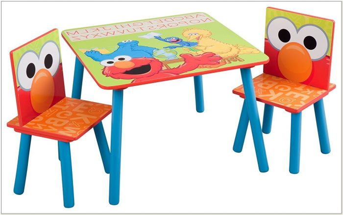 Elmo Table And Chair Set With Storage