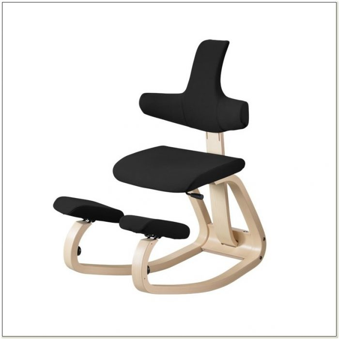 Ergonomic Kneeling Chair With Backrest