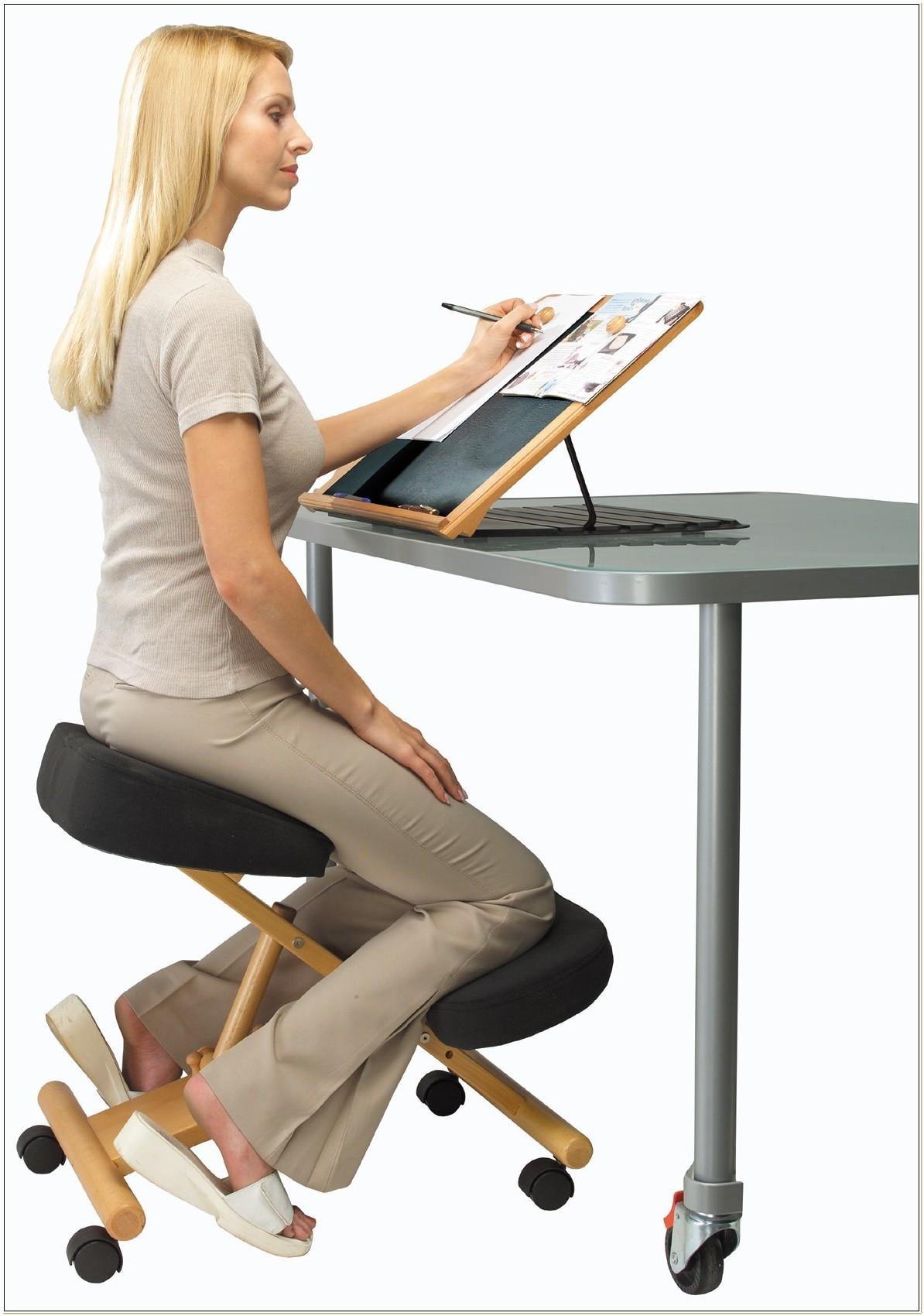 Ergonomic Office Chair Kneeling Posture