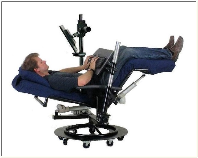 Ergonomic Reclining Desk Chair