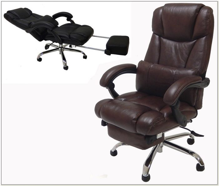 Executive Reclining Desk Chair