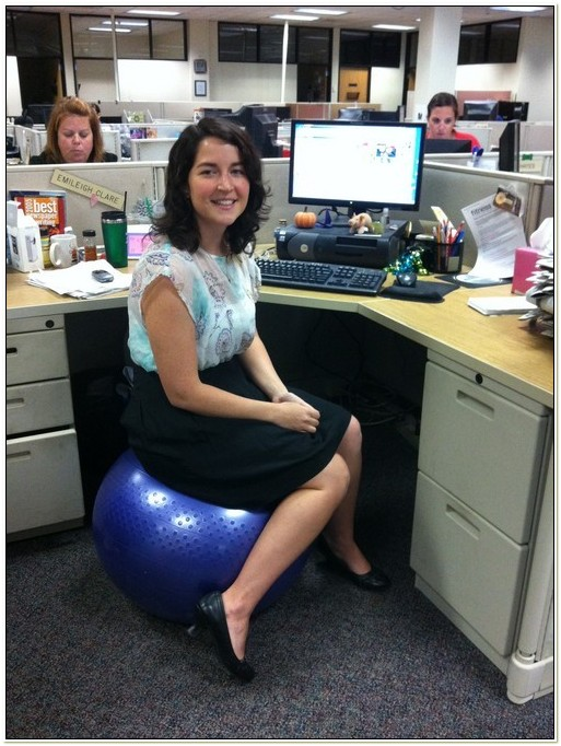 Exercise Ball For Chair Size