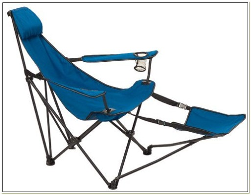 Foldable Lawn Chair With Footrest