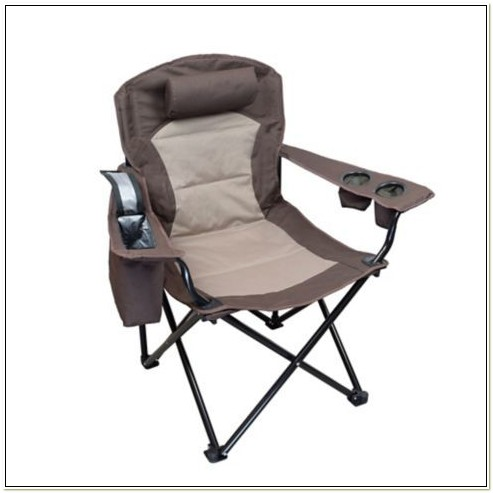 Folding Camping Chair With Cooler