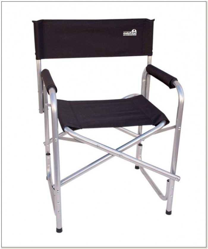 Folding Camping Directors Chair Aluminium