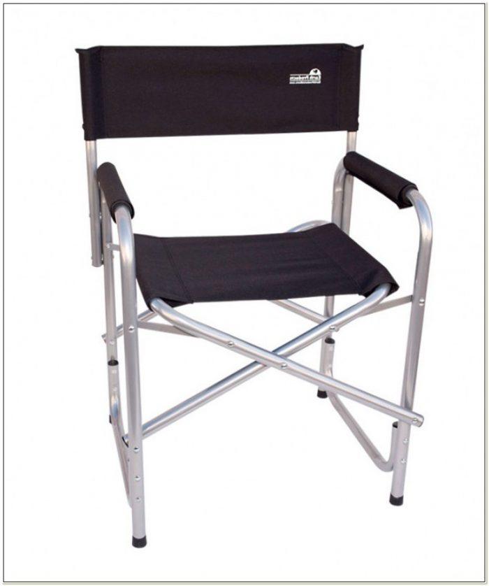 Folding Metal Directors Chairs