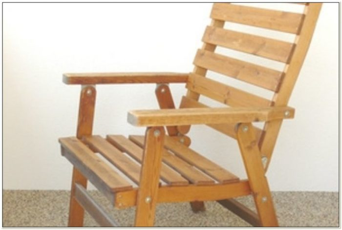 Folding Wooden Patio Chair Plans