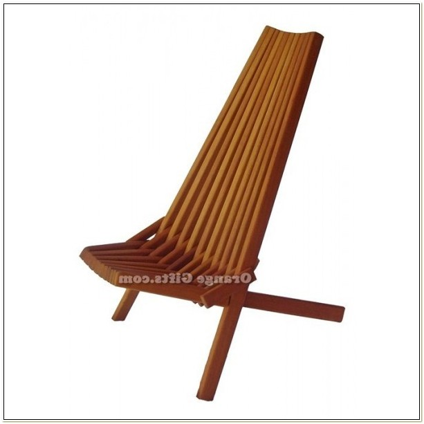 Folding Wooden Patio Chairs