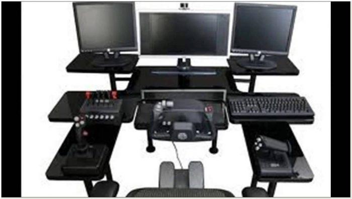 Gaming Chair Keyboard Tray