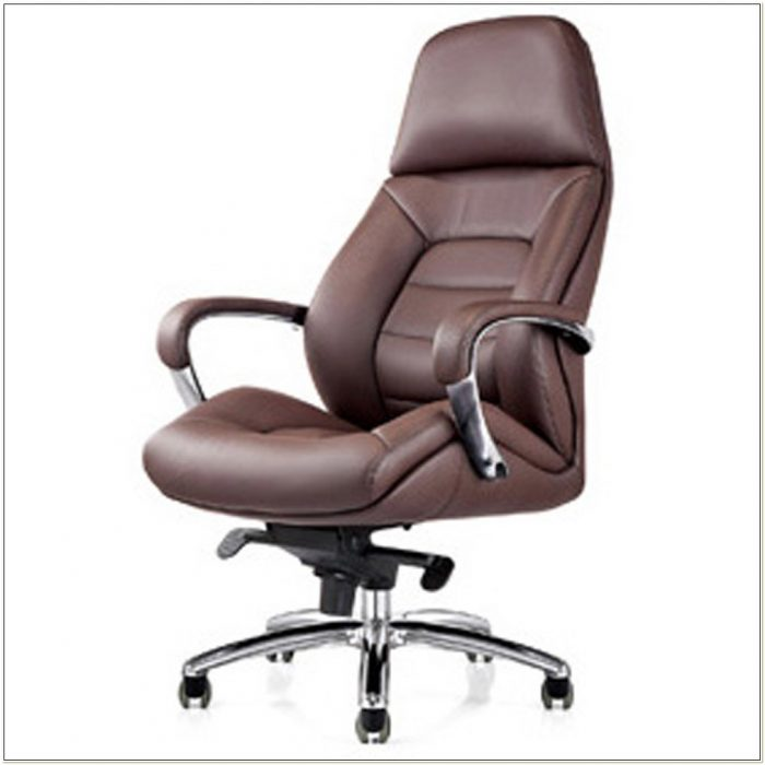 Genuine Leather Executive Desk Chair