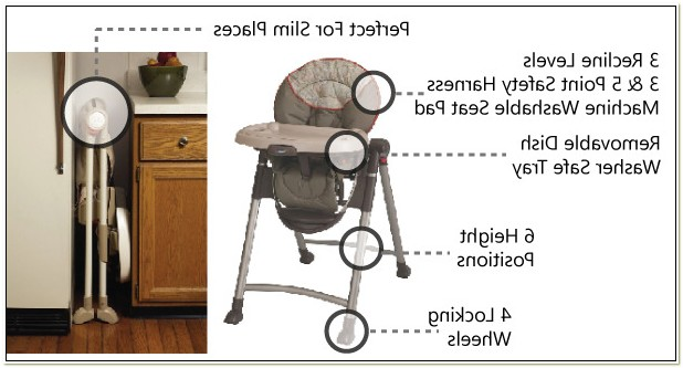 Graco Reclining Adjustable High Chair