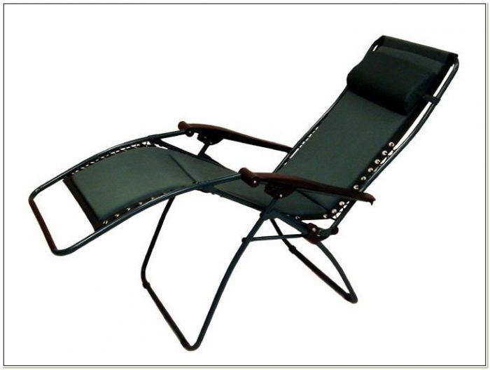 Gravity Recliner Outdoor Chair