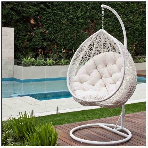 Hanging Rattan Egg Chair Outdoor