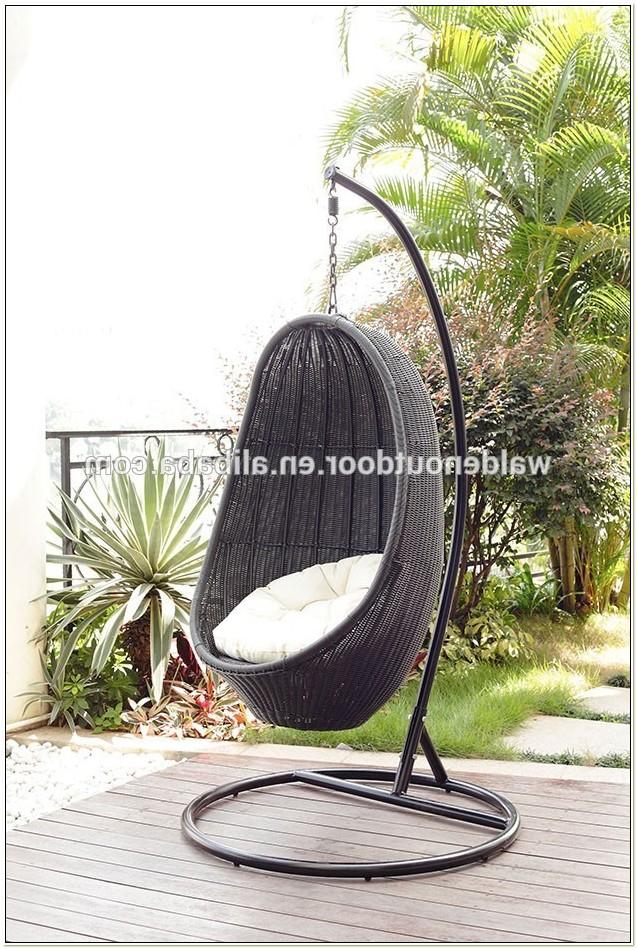 Hanging Wicker Egg Chair Rattan Outdoor Furniture