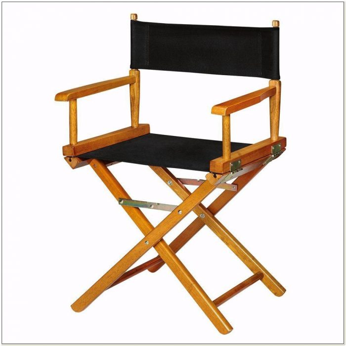 Heavy Duty Wooden Directors Chair