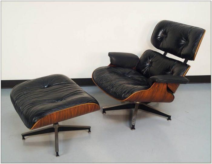 Herman Miller Eames Lounge Chair Rosewood