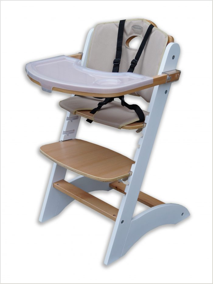 High Chair With Adjustable Footrest