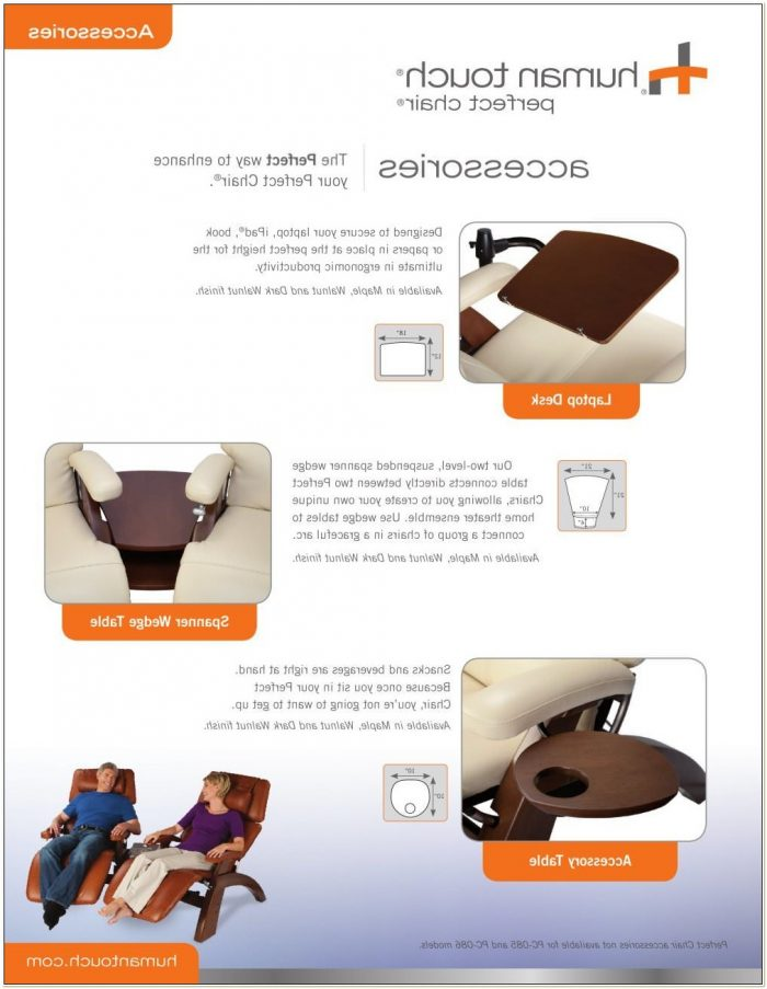 Human Touch Zero Gravity Chair Accessories