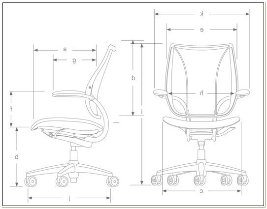Humanscale Liberty Chair Dimensions