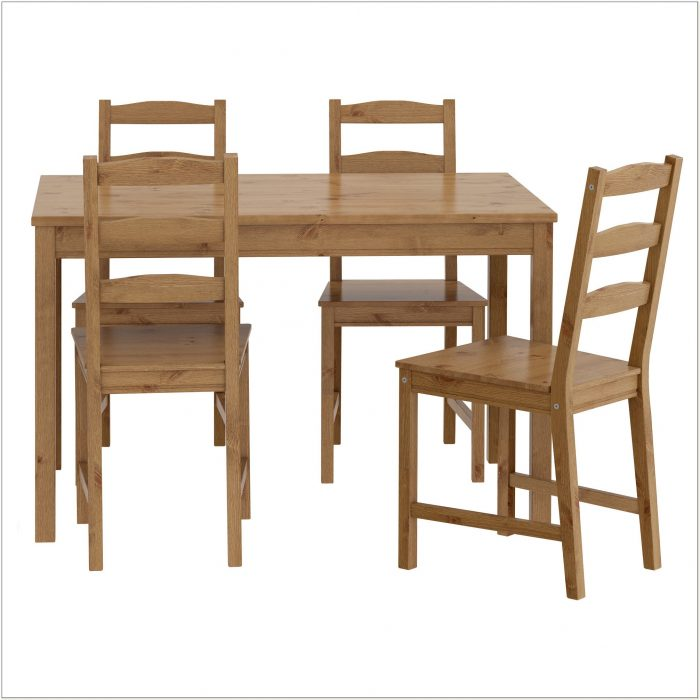 Ikea Solid Wood Dining Set