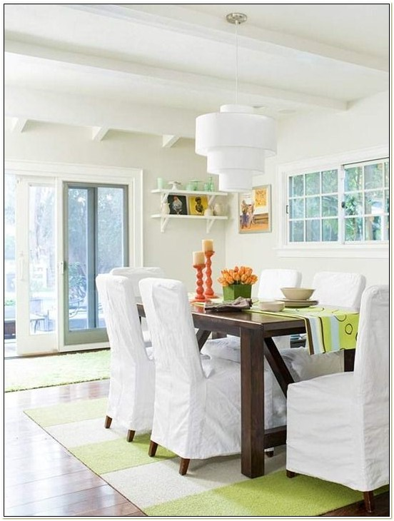 Ikea White Slipcover Dining Chair